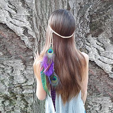 headbands pingente de moda boemia do vintage penas femininas 1 peça