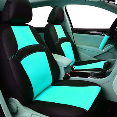 رخيصةأون اكسسوارات السيارات الداخلية-carpass مقعد السيارة يغطي تنفس اللون الأحمر شطيرة شبكة اكسسوارات السيارات سيارة