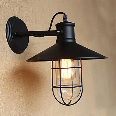 סגנון חלוד/בקתה מנורות קיר עבור מתכת אור קיר 220V 110V 40WW