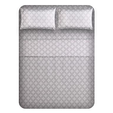 Géométrique Polyester Ensemble de draps