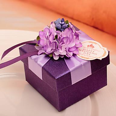 10 Stück / Set Geschenke Halter-kubisch Kartonpapier Geschenkboxen Nicht personalisiert