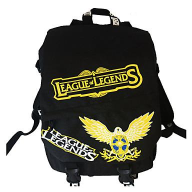 Tasche Inspiriert von LOL Cosplay Anime Cosplay Accessoires Tasche Rucksack Nylon Herrn Damen