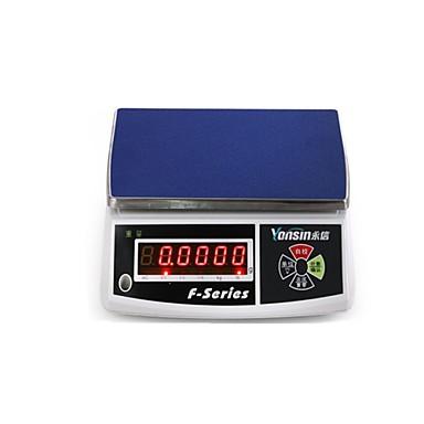balanças eletrônicas 3 kg / 6 kg / 15 kg / 30 kg, disse escala pontos pesada (venda 30kg / 1g (três escala de contagem janela))