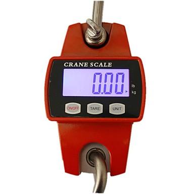 los mini balanzas electrónicas escala de gancho electrónico electrónico que cuelga de la grúa de 300 kg que cuelga dicha grúa industrial