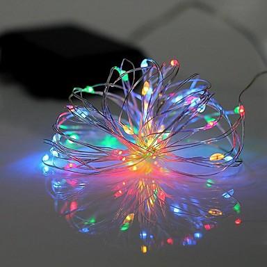2m Leuchtgirlanden 20 LEDs LED Diode RGB / Weiß Wasserfest 220 V / IP44