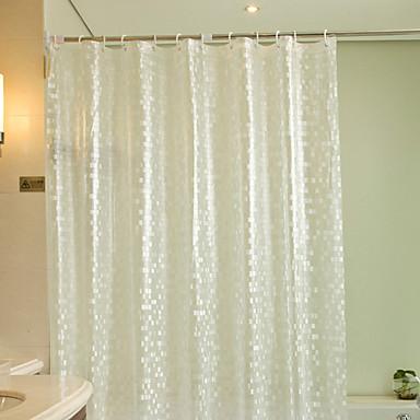 Duschvorhänge Modern PEVA Streifen Maschinell gefertigt