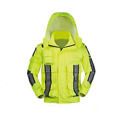heijastava sadetakki takki ulkona monikäyttöinen loisteputki keltainen kirjoituksella