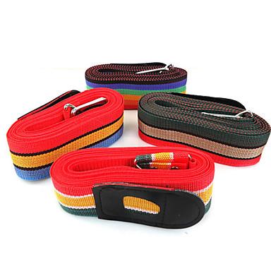 gebündelt Koffer mit mit Verstärkung langen Riemen Riemen Gepäckbox gebunden mit gelegentlicher Farbe