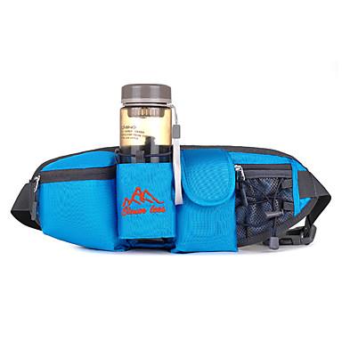 Magetasker Belte med flaskeholder Mobilveske Belte Veske til Klatring Sykling Løp Sportsveske Multifunksjonell Telefon/Iphone Joggebelte