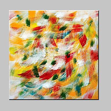 met de hand beschilderd abstract olieverfschilderij op canvas moderne muurkunst voor huisdecoratie met gestrekte frame klaar om te hangen