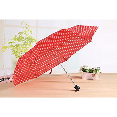 Sammenfoldet paraply Metal tekstil Silikone Klapvogn børn Rejse Dame Herre Bil