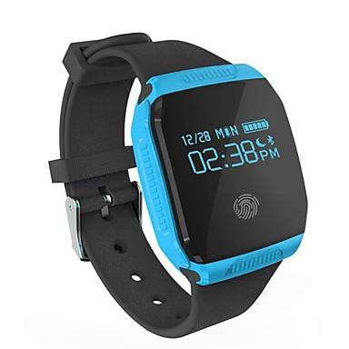 1 E07S Wristbands Smart armbånd Armbånd Vandafvisende Skridttællere Sport Multifunktion Påførelig Information Bluetooth 4.0 iOS Android