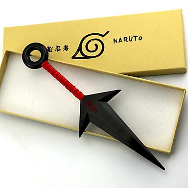 Innoittamana Naruto Naruto Uzumaki Anime Cosplay-Tarvikkeet PVC Miesten uusi / kuuma Halloween-asut