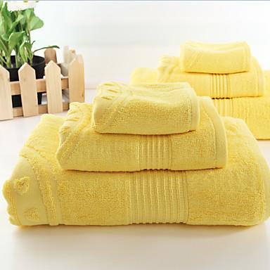Badlaken Set,Effen Hoge kwaliteit 100% Bamboevezel Handdoek