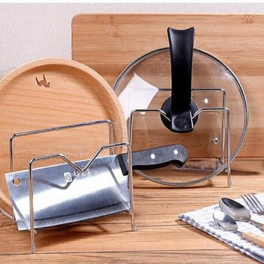 Organización de cocina Repisas y Soportes Acero Inoxidable Fácil de Usar 1pc