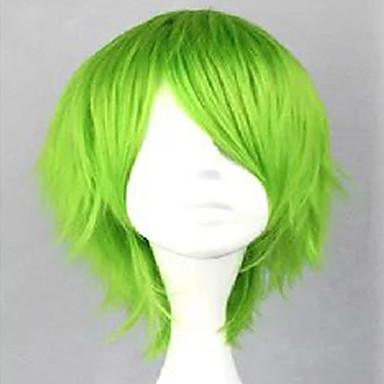 Pelucas sintéticas / Pelucas de Broma Rizado Con flequillo Pelo sintético Peluca Mujer Larga Sin Tapa