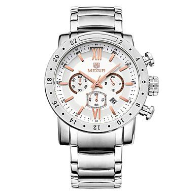 MEGIR® Brand Luxury Watches Men 2015 Quartz Watches Outdoor Sport Wristwatch Cool Watch Unique Watch Fashion Watch
