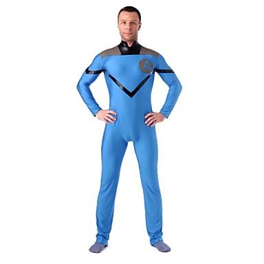Zentai Dragt Morphsuit Superhelte Spandex Heldragt Cosplay Kostumer Patchwork Trikot/Heldragtskostumer Zentai Spandex Lycra Unisex