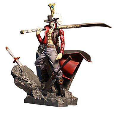 Anime Action-Figuren Inspiriert von One Piece Dracula Mihawk PVC 15 CM Modell Spielzeug Puppe Spielzeug