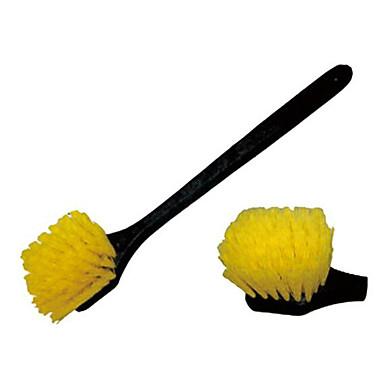 bil hjulnavet børste dæk børste bilvask børste bil skønhed rengøring artiklen langt håndtag hjulnavet børste