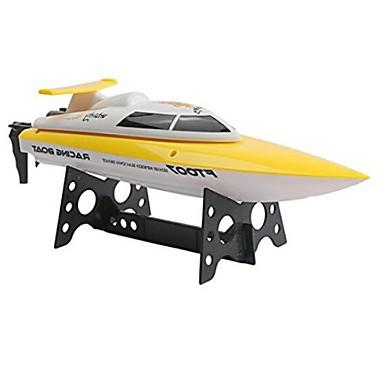 Speedbåd FEILUN FT007 Racer RC Båd Børstefri Elektrisk 4 2.4G Rød Gul