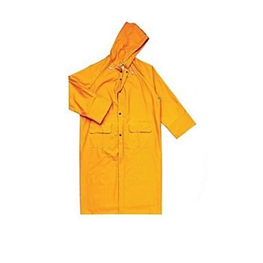 407 005 siamese regnfrakk poncho overalls PVC-belagt polyester (selges JA-gul, xl)