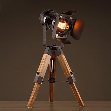 40W Traditioneel / Klassiek / Rustiek/landelijk / Noviteit Bureaulampen , Kenmerk voor LED , met Schilderen Gebruiken Aan/uit knop