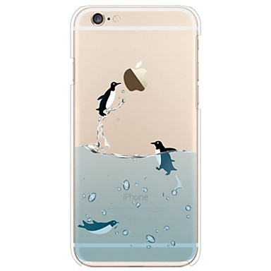 Case For Apple iPhone 6 Plus / iPhone 6 Transparent / Pattern Back Cover Animal Soft TPU for iPhone 7 Plus / iPhone 7 / iPhone 6s Plus
