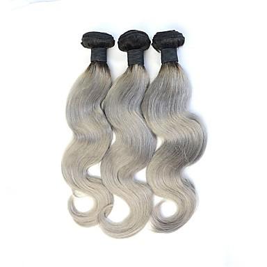 저렴한 인모 헤어 연장 제품-3 개 묶음 브라질리언 헤어 바디 웨이브 8A 인모 옴브레 인간의 머리 되죠 인간의 머리카락 확장