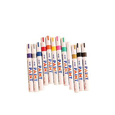 kantoorbenodigdheden neutrale pen reparatie pen verf multifunctionele markeerstift diy graffiti pen een doos van 12 kleuren