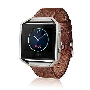Uhrenarmband für Fitbit Blaze Fitbit Klassische Schnalle Lederschlaufe Leder Handschlaufe