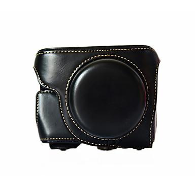 Digitale Camera-Tas- voorPanasonic-Eén-schouder- metStofbestendig-Zwart / Koffie / Bruin