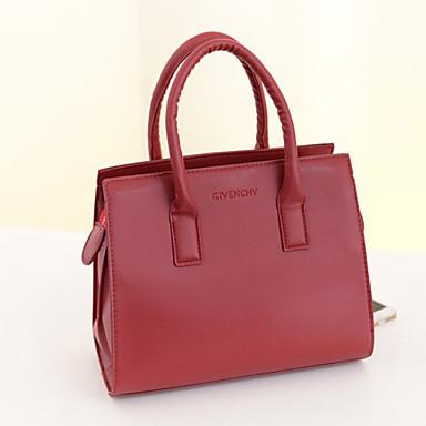 Damer PU Fritid / Udendørs / Shopping Håndtaske