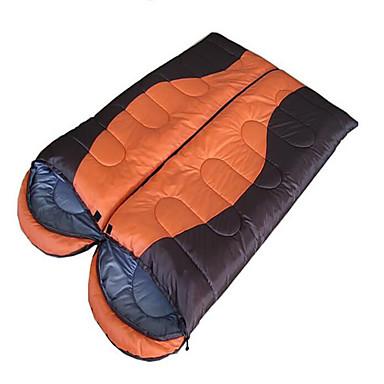 Schlafsack Rechteckiger Schlafsack 0°~18°°C warm halten Wasserdicht Windundurchlässig Videokompression 180 Camping Drinnen Draußen Reisen