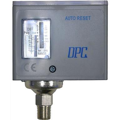 pressostat garanti gasstrøm kvalitet