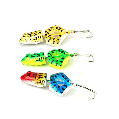 1 Stück Angelköder Frosch Fester Kunststoff Spinn Spring Fischen Fischen im Süßwasser Angeln Allgemein Spinnfischen Barschangeln