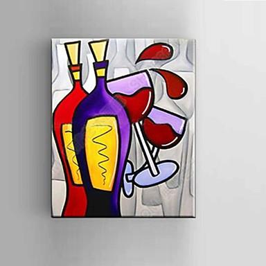 Hånd-malede Abstrakt / Still Life / Fantasi / Abstrakt Landskab Oliemalerier,Moderne / Klassisk / Middelhavet / Parfumeret / Europæisk