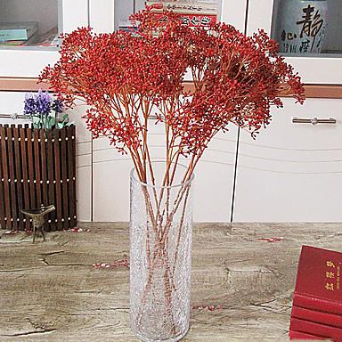 Flores artificiais 1pcs Ramo Estilo Moderno Plantas Flor de Mesa
