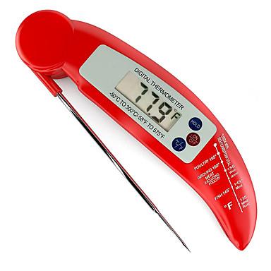 voedsel keuken barbecue elektronen probe vouwen probe thermometer (kleur willekeurige aflevering)