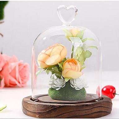 Blomster/botanik Glas / Træ / Plastik Land,