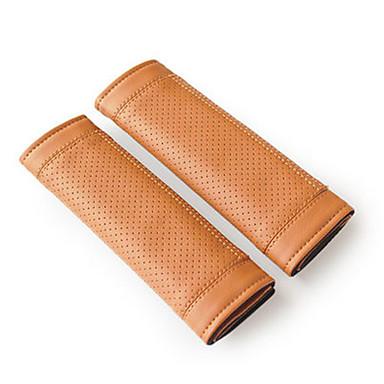 voordelige Auto-interieur accessoires-Gordelhoes gordel Licht Bruin / Rood / Zwart / rood PU-nahka Standaard Voor Universeel