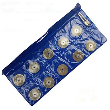 diamantslijperij (25mm * 10 slice + 2 drijfstang, twee van een pakje)