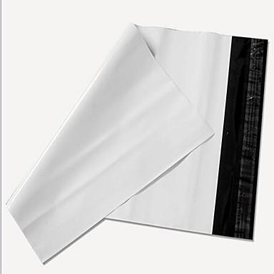 groothandel op maat wit nieuw materiaal koerier zakken 28 * 42 38 * 52 waterdichte afdichting verpakking zakken