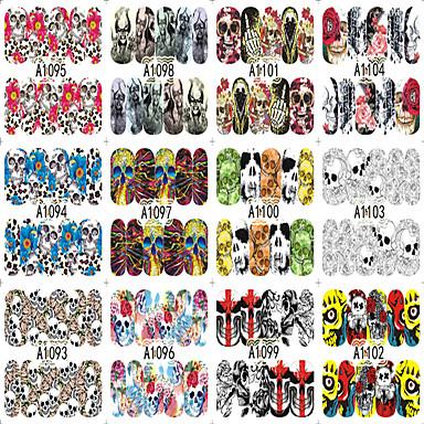 Nail Art Nail Sticker Hel Negle Tipper / Negle Smykker