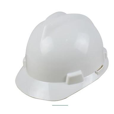 hvit gul oransje rød og blå byggeplass sikkerhet abs flammehemmende anti-knusende hjelmer v-gard