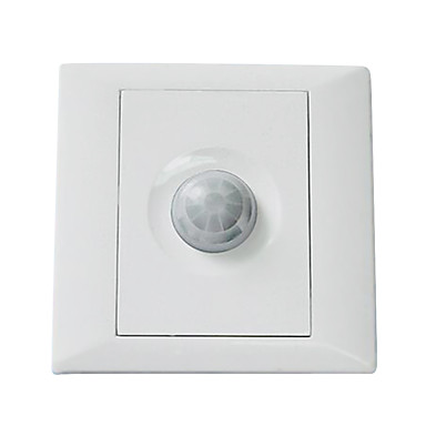typen 86 menneskelige krop induktion intelligent væg energibesparende switch