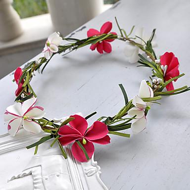 Harz Blumen Kopfschmuck Hochzeitsgesellschaft elegant klassisch femininen Stil