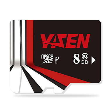 yisen 8GB UHS-i u1 / luokka 10 microSD / microSDHC / microSDXC / tfmax lukea speed80 (mb / s)