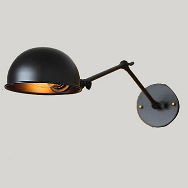 Mini Tarzı Döner Kollu Işık,Kırsal/Köysel E26/E27 Metal
