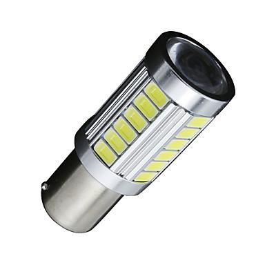 SO.K 2pcs BA15s (1156) Elpærer 5W SMD 5630 400lm 33 LED Dagkjøringslys For Universell Alle Modeller Alle år